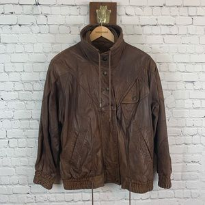 Adventure Bound Vintage Leather Jacket